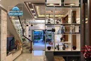 Bán nhà Khu OMELY Đào Tông Nguyên, Nhà Bè, DT sàn 300m2, nhà 3 lầu, hẻm xe hơi.
