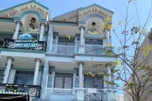 Bán nhà phố khu Anh Tuấn Green RiverSide, Huỳnh Tấn Phát, DT 5m x 16m, sổ hồng, thiết kế đẹp