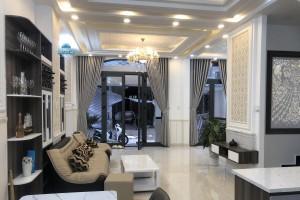 Bán nhà phố khu Petechim đường Huỳnh Tấn Phát, DT 6m x 13.5m, sổ hồng, thiết kế đẹp copy