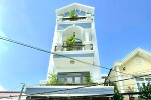 Bán nhà Nhà Bè Hẻm 1806 Huỳnh Tấn Phát Nhà Bè, Nhà Mới 3 Lầu Tặng Nội Thất Mới